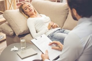 Hypnotherapy in practice involves three key stages